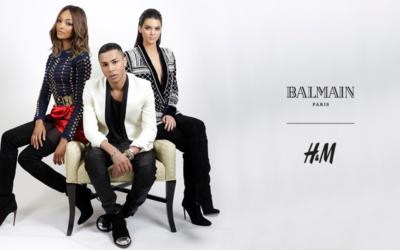 H&MがBalmain(バルマン)とのコラボレーションを2015年11月5日から発売